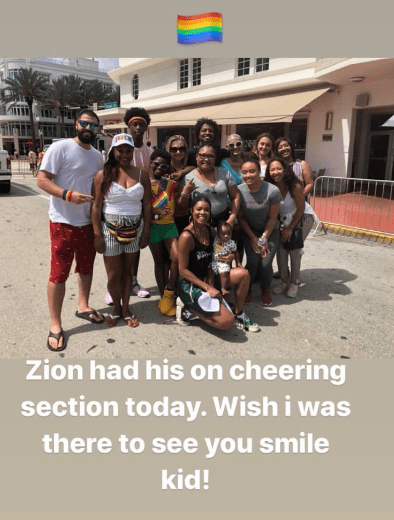 Wade Family Supports ZIon