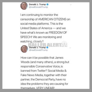 Trump Comments On Social Media