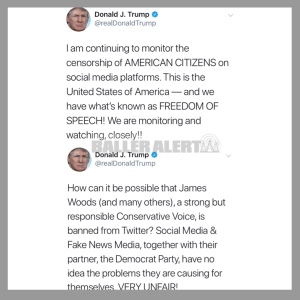 Trump Comments On Social Media