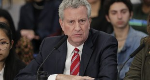 Mayor Bill de Blasio Runs for President