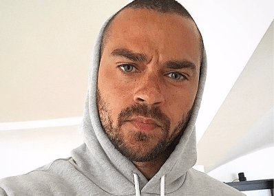 Jesse Williams Fres back at wife