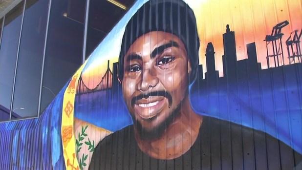 Oscar Grant Mural