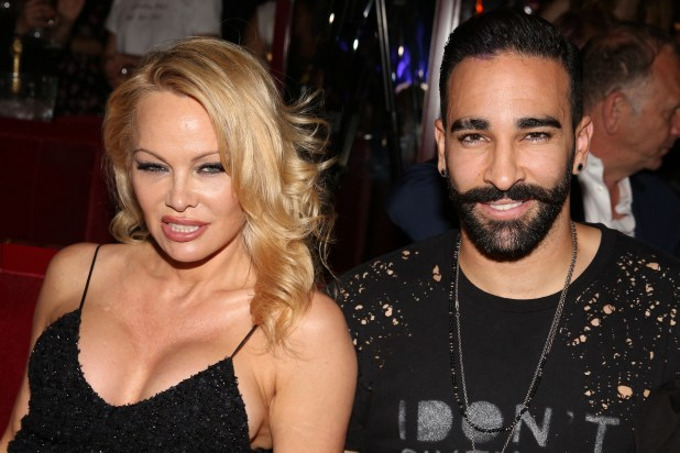 Pamela Anderson And Adil Rami Split