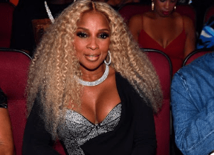 Mary J Blige with Lionsgate
