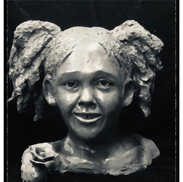 Maleah Davis' Sculpture