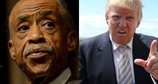 Al Sharpton Vs Donald Trump