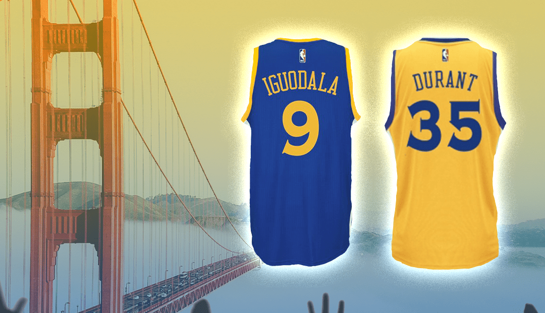 on sale c3eb9 c4406 Golden State Warriors To Retire Andre Iguodala, Kevin ...