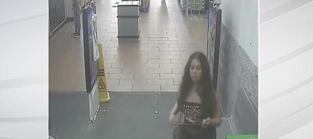 Woman pees on Potatoes