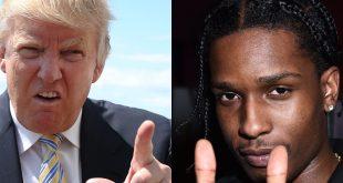 Trump vs Asap Rocky