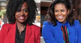 Viola Davis and Michelle Obama
