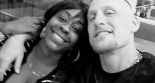 White Man and Black Girlfriend