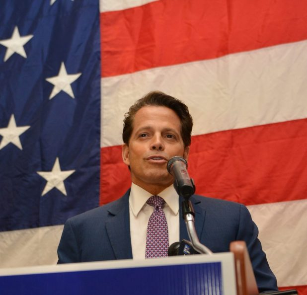 Anthony Scaramucci Splits With Trump