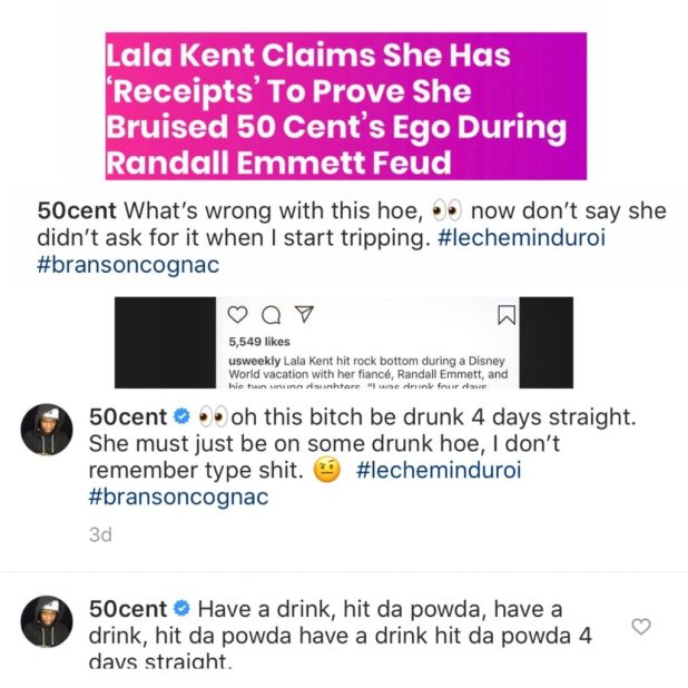 Lala Kent vs 50 cent