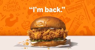 Popeyes Chicken is Back