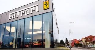 Ferrari and Armani work together