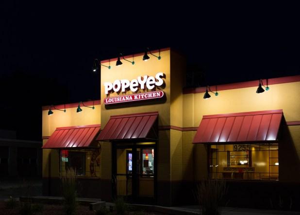 Popeyes in VA