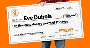 Eve Dubois Popeyes