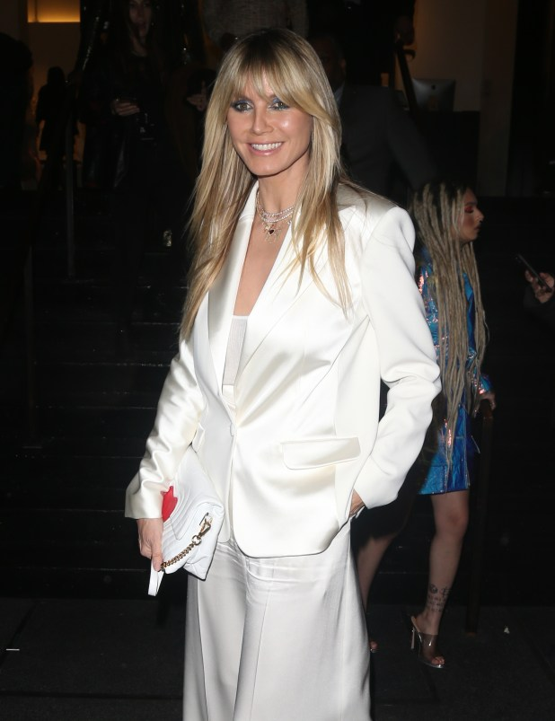 Heidi Klum Complains ABout Being Called White Woman