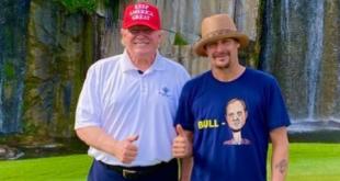 Kid Rock and Trump