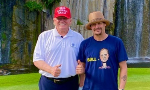 Kid Rock and Trump