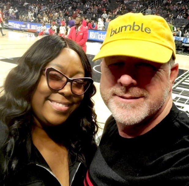 Loni Love and James Wesh