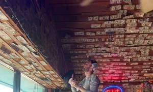 Georgia Bar Owner Removes $3,714 From Walls