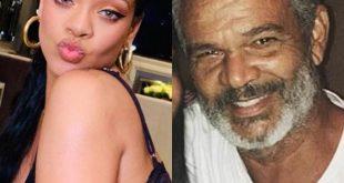 Rihanna and Ronald