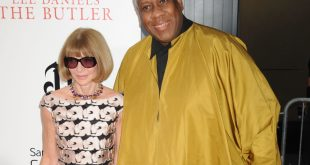 Anna Wintour and Andre
