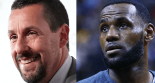 Lebron James and Adam Sandler