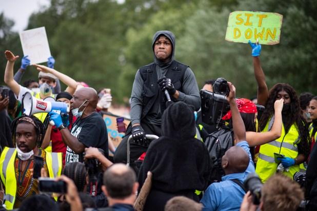 John Boyega Protests