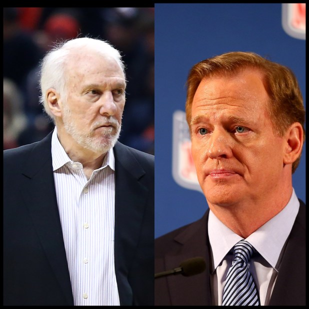 Gregg Pop vs Roger Goodell