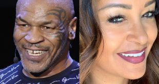 Mike Tyson and Claudia Jordan