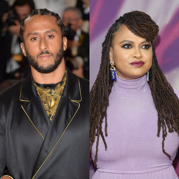 Colin kaepernick and ava duvernay