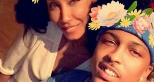 Jada Pinkett Smith and August Alsina