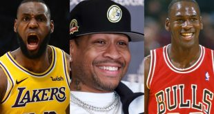LeBron James and Iverson