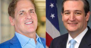 Mark Cuban vs Ted Cruz