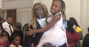 Young Thug and his Daughter