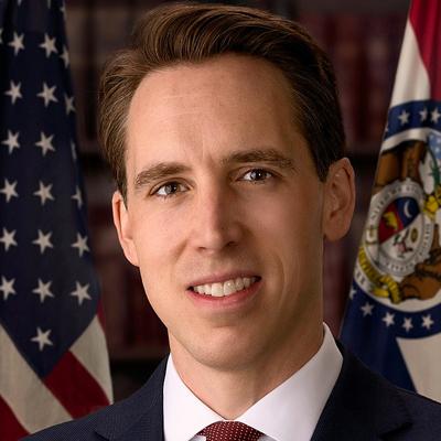 Missouri Republican Senator Josh Hawley