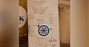 ohio customer leaves tip