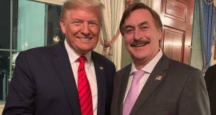 Donald Trump and MyPillow CEO Mike Lindell - Instagram