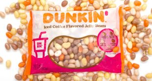 Dunkin' Donuts Joins Frankford Candy For Coffee Flavored Jelly Beans