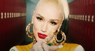 Gwen Stefani (Slow Clap Music Video screenshot)