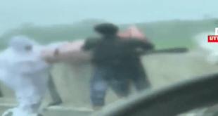 2 men dump dead covid patients in river