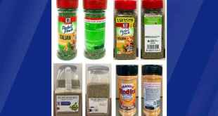 Seasoning Giant McCormick Recalls Products Due To Salmonella Concerns