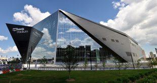 Minnesota Vikings US Bank Stadium in Minneapolis