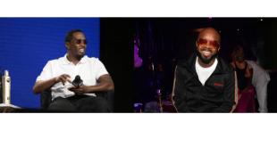 Diddy and Jermaine Dupri