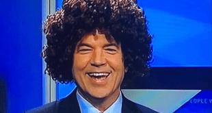 KATV achors in afro wigs