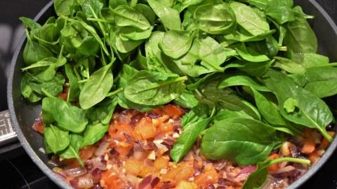 Nudel-Spinat-Auflauf-Resteverwertung