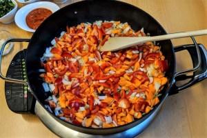 Gesunde Zucchini-Pfanne Gesund