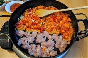 Gesunde Zucchini-Pfanne einfach